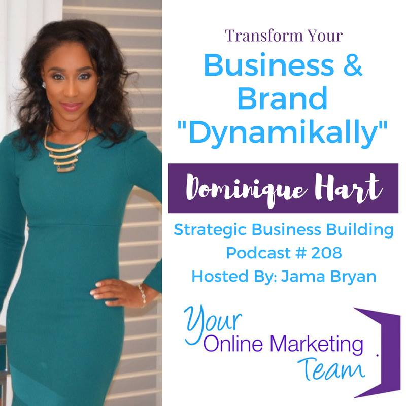 Strategic Business Building Podcast - Dominique Hart